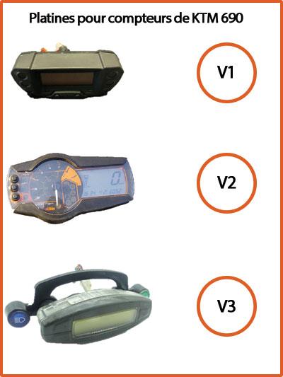speedometer model for KTM 690