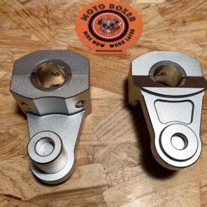 handlebar risers +55 mm - Ø 22mm