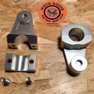 handlebar risers +55 mm - Ø 28mm