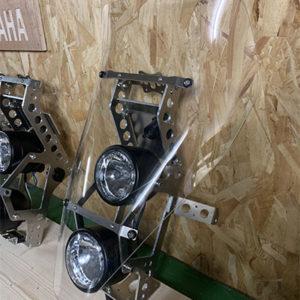 rally fairing motoboxer kit 2 headlights