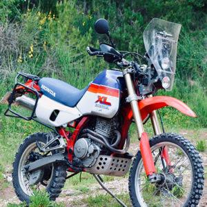 rally fairing kit 2 headlights honda 650 dominator