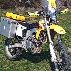 rally fairing kit 2 headlights suzuki rmz 450