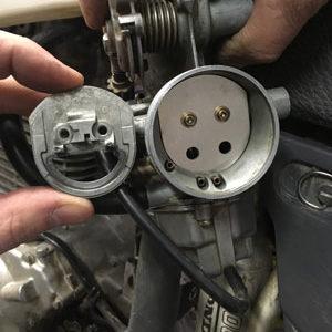 choke valve carburetor for honda 400 & 600 XR