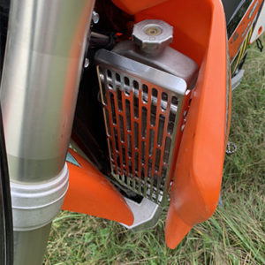 radiator guard for ktm 525 exc