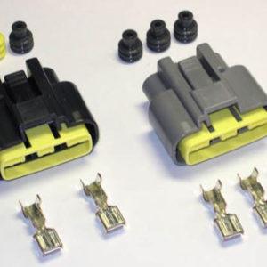 pair of female connectors for MOSFET regulator
