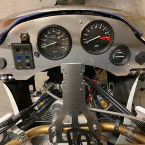 aluminium cockpit dashboard for honda africa twin 650 RD03