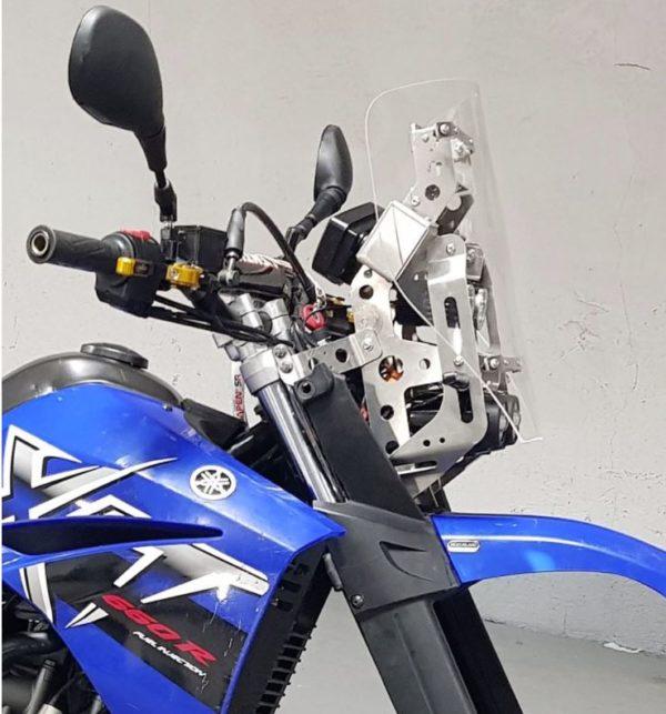 Tête de fourche Yamaha XTR 4 feux LED