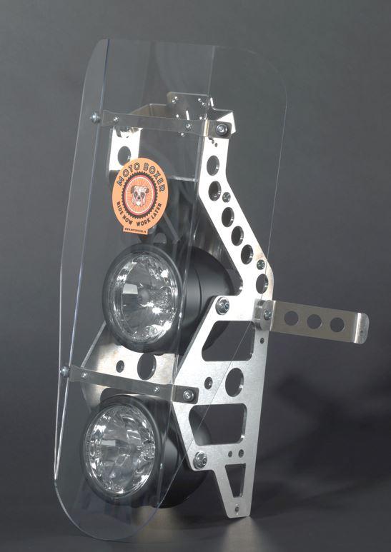 rally fairing kit 2 headlights